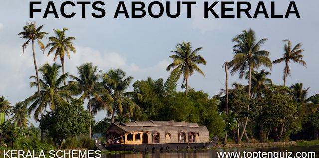 MCQ on Kerala Schemes