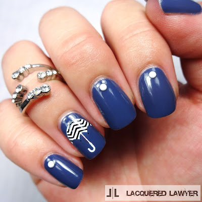 Ultramarine Umbrella Nails