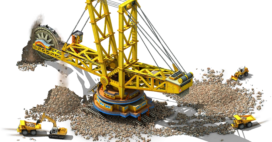 Mining Funda Bucket Wheel Excavator Bwes