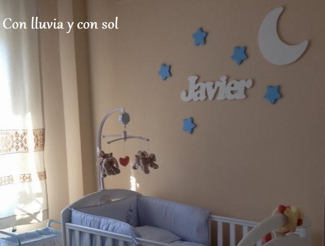Con lluvia y con sol mural decorativo para pared - Letras decorativas pared ...