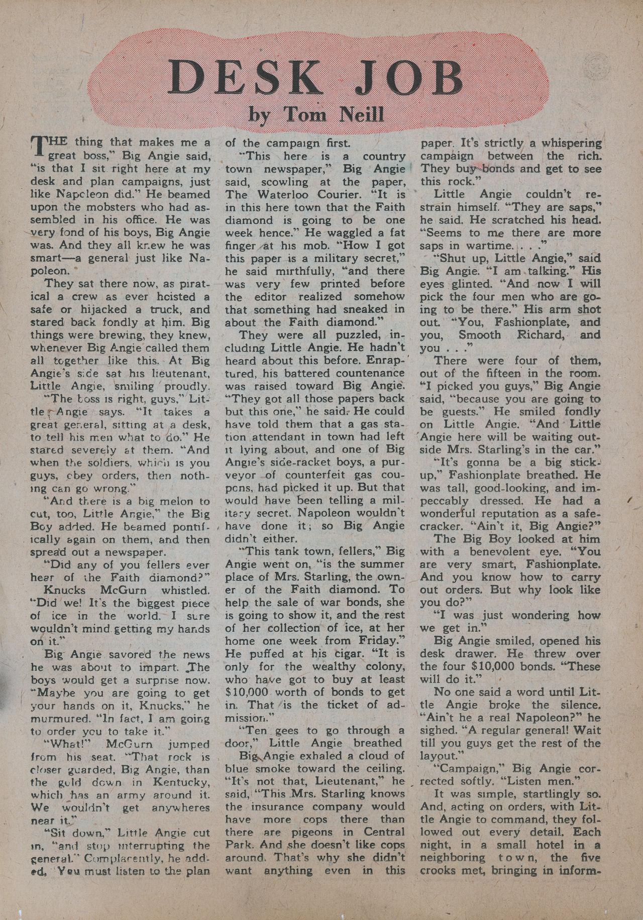 Read online Detective Comics (1937) comic -  Issue #101 - 33