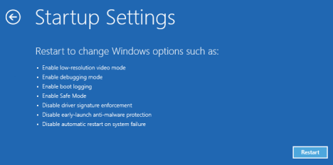 Click On Repair This Pc Now Navigate Too Troubleshoot Advance Options Startup Settings Now Simply Enable Safe Mode You Will See A Screen Like Below