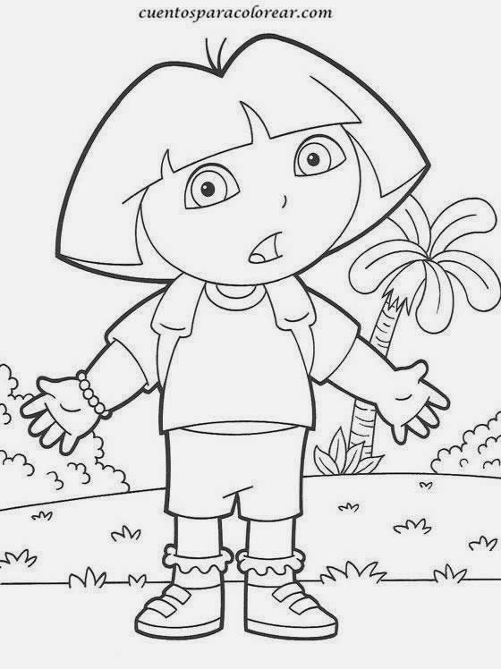 Maestra de Primaria: Dibujos de Dora la Exploradora para ...