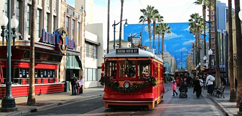 disney california adventure christmas