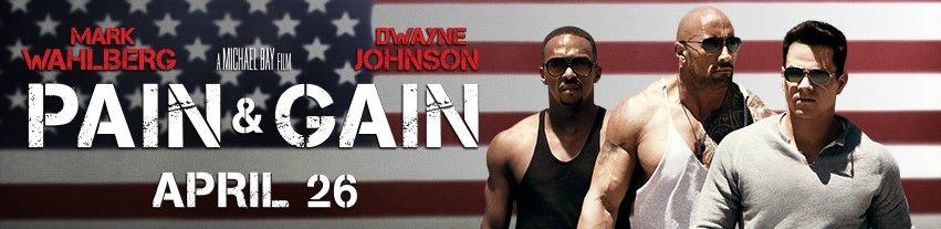 Pain & Gain (2013) Banner
