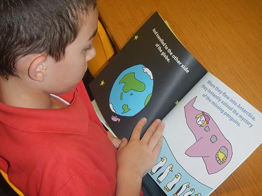 australian school kids loving books