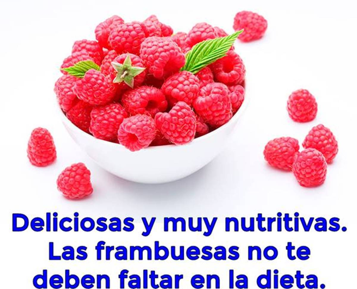 Nutritivas propiedades de las frambuesas para mejorar la salud