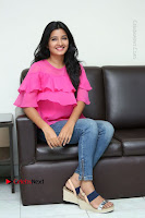Telugu Actress Deepthi Shetty Stills in Tight Jeans at Sriramudinta Srikrishnudanta Interview .COM 0110.JPG