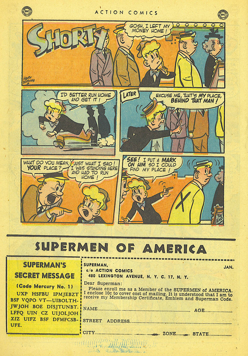Read online Action Comics (1938) comic -  Issue #152 - 38