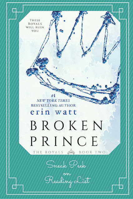 Broken Prince a Sneak Peek on Reading List