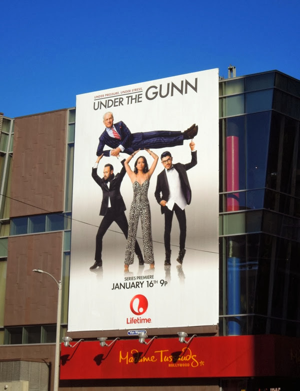 Under the Gunn season 1 billboard