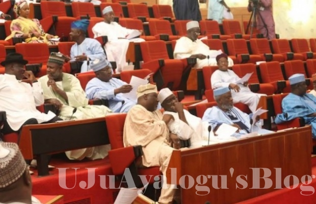 BREAKING News: Senators Flee As Fire Erupts Inside National Assembly
