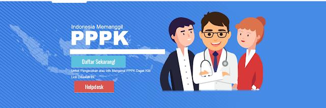 Jadwal Pendaftaran P3K untuk Formasi Umum Dibuka Setelah Bulan April 2019