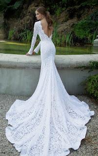vestido longo sereia com renda - fotos, dicas e modelos