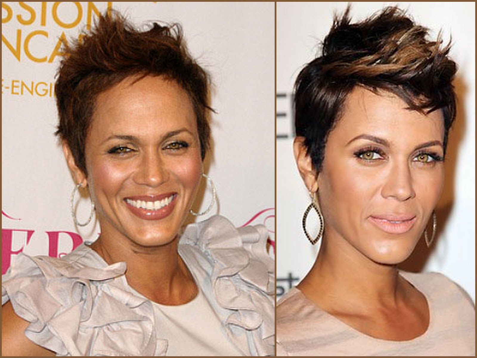 5 fab ladies with fierce short cuts - longing 4 length