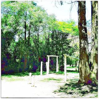Aparelhos de Ginática do Recanto de Artes Marciais - Parque Saint Hilaire, Viamão