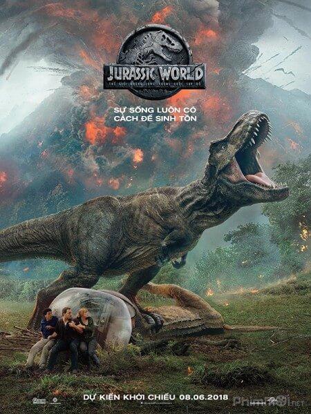 The gioi khung long 2: Vuong quoc sup do - Jusarric World: Fallen Kingdom 2018 Vietsub