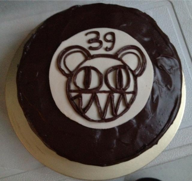 No Ordinary World Of Lovexiaolongbao Radiohead Birthday Cake