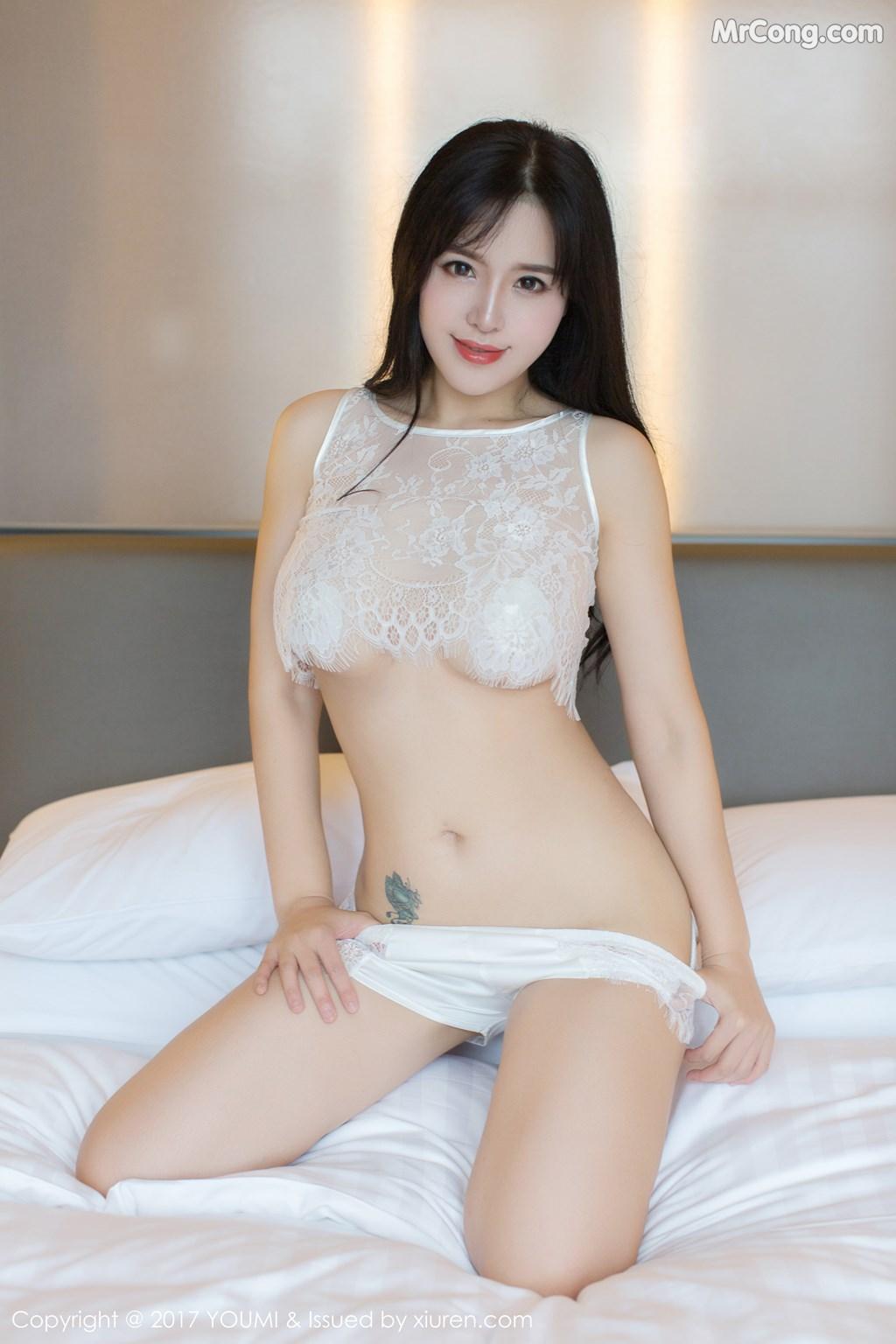 YouMi Vol.121: Model Liu Yu Er (刘 钰 儿) (51 photos)