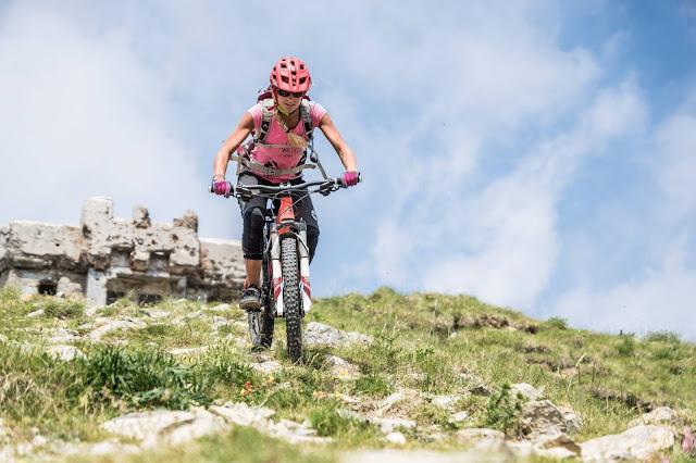 Mountainbike Tour MTB Franzkreich Italien Seealpen Trois Communes