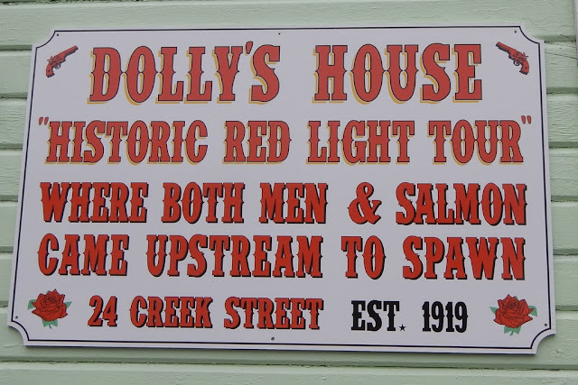 Ketchikan Creek Street Dolly House