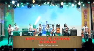 Lirik Lagu Goyang Walang Kekek - Nella Kharisma