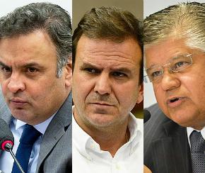 STF autoriza investigação sobre Aécio, Paes e Clésio Andrade