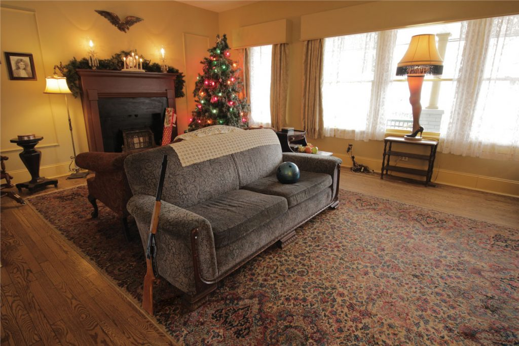 the house is actually located in cleveland though the film was set in indiana and is opened to the public on the inside you will see real props from the - When Is A Christmas Story Set