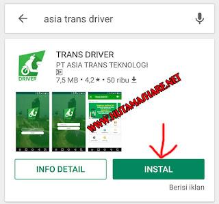 Panduan Daftar Menjadi Driver Asia Trans Jek