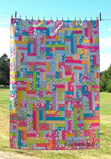 Scrappy Patches Quilt Pattern by Myra Barnes