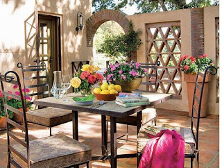 En la decoración mediterránea siempre están presentes los cinco elementos