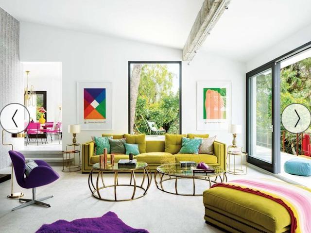 maison,déco,mallorca,spain,espagne,maison de vacances,beach house,mid-century,modernism,acapulco,ananas,couleurs