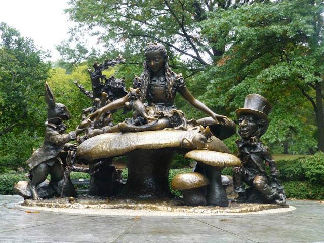 Alice aux Pays des Merveilles Central Park
