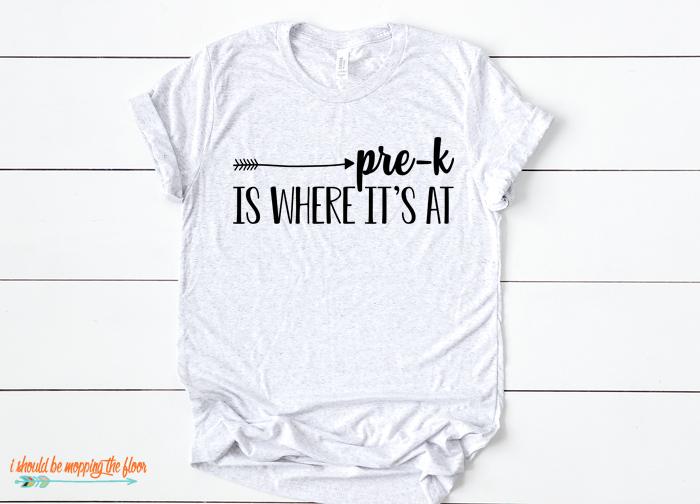 Pre-K Shirt