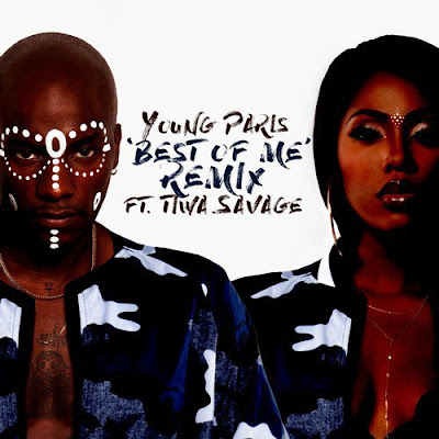 "PHOTO: Young Paris Ft. Tiwa Savage- ""Best Of Me Remix"""