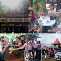 Shannon (AU), Mathieu and Tiphaine and Mathieu's friends (FR), sharing transport from Surabaya to Bromo-Ijen. July 6th to 8th, 2016.