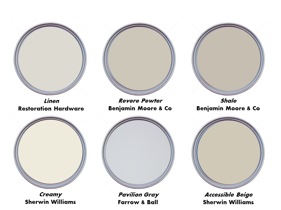 Hurry scurry top neutral paint colors for 2015 for Neutral color paint schemes