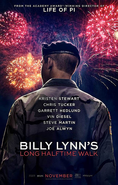 Billy Lynn's Long Halftime Walk (2016) Movie Sinopsis - Kristen Stewart, Vin Diesel