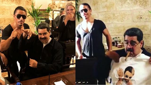 Maduro no aclara quién pagó la cuenta del banquete en Estambul