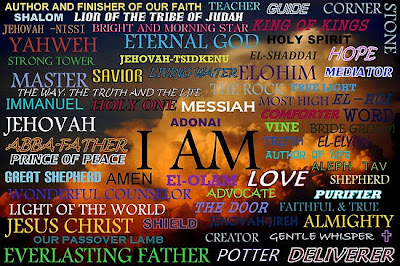 12 Selected Names of God in Hebrew and their English Equivalent