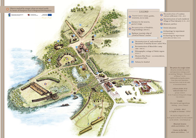 La Pompeia de Polònia, Edat del Ferro, Lusacià, arqueologia