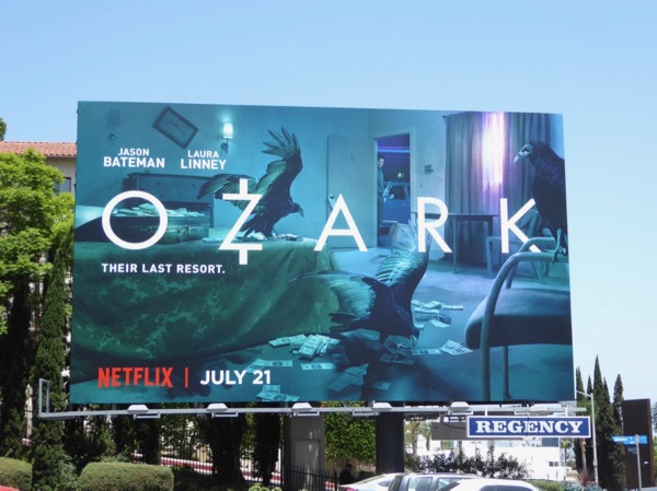 Ozark series launch billboard