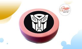 Transformers Photo Cake