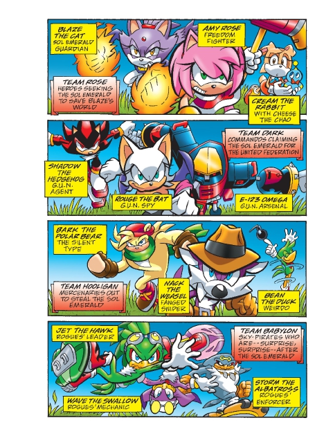 Read online Sonic Comics Spectacular: Speed of Sound comic -  Issue # Full - 191
