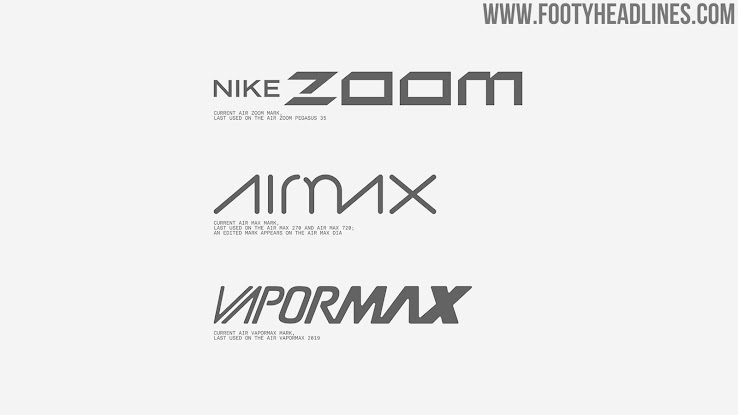 Convertir Progreso Solicitud  Year Of Nike Air - All-New Nike Air 2020 Logo Revealed + Design Process +  History + 2020-21 Air Max Inspired Football Kits - Footy Headlines