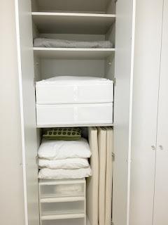 IKEAのSKUBB収納ケースを使ってクローゼットを快適に収納する