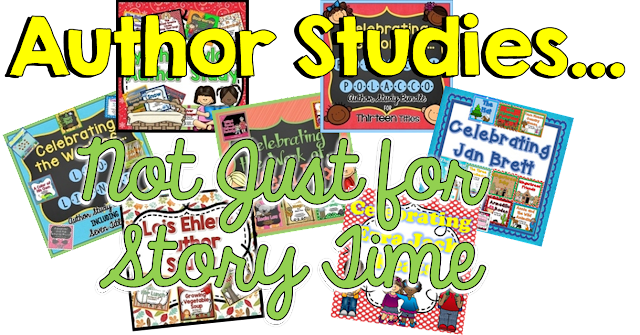 Which authors are your favorites? Do you use author studies to teach? Check out this post about why they're important.