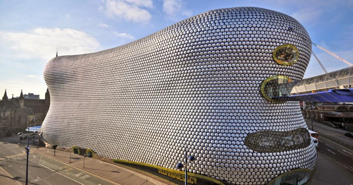 Selfridges Birmingham Britain Visitor Blog