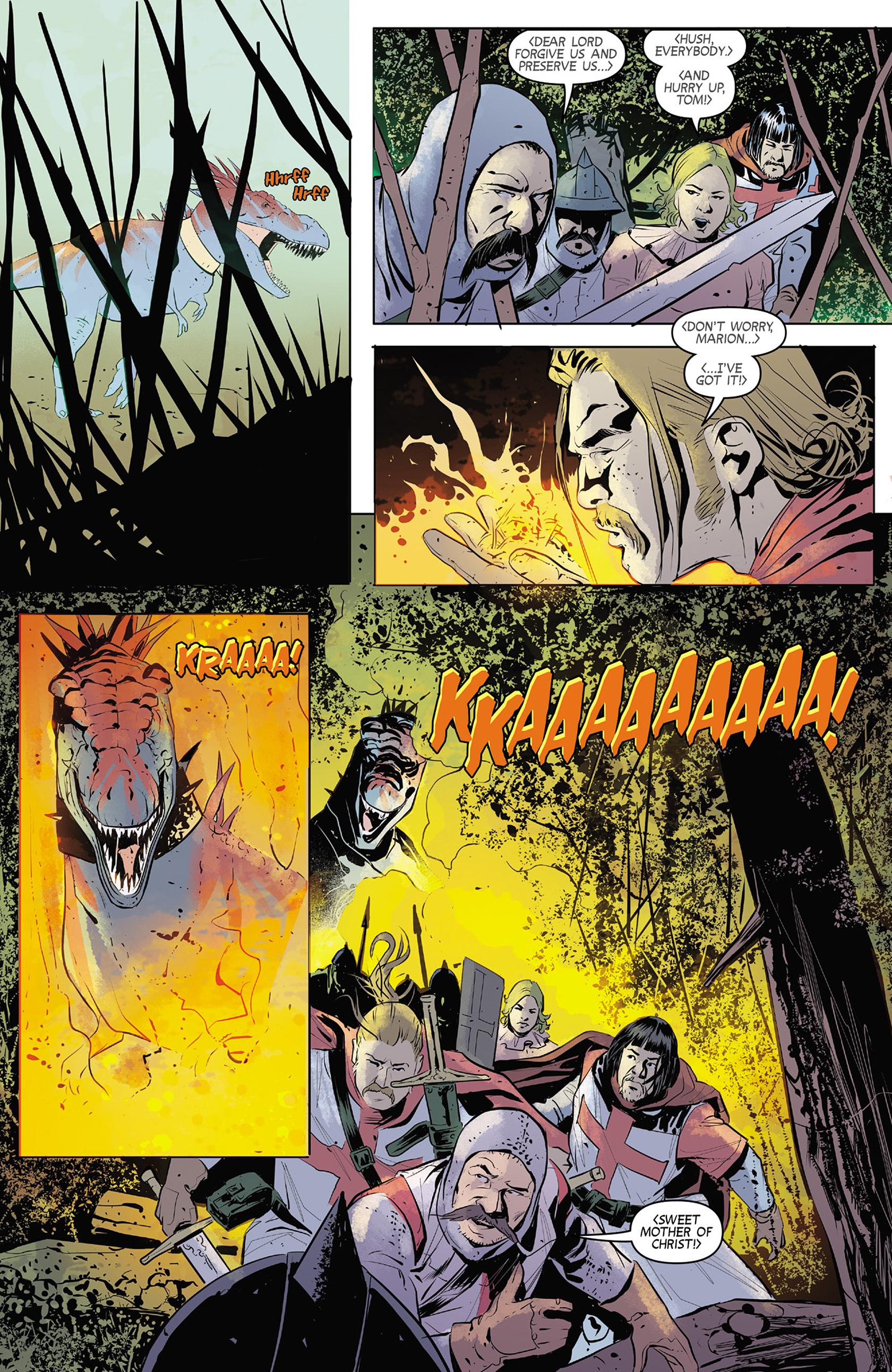 Read online Turok: Dinosaur Hunter (2014) comic -  Issue #4 - 8