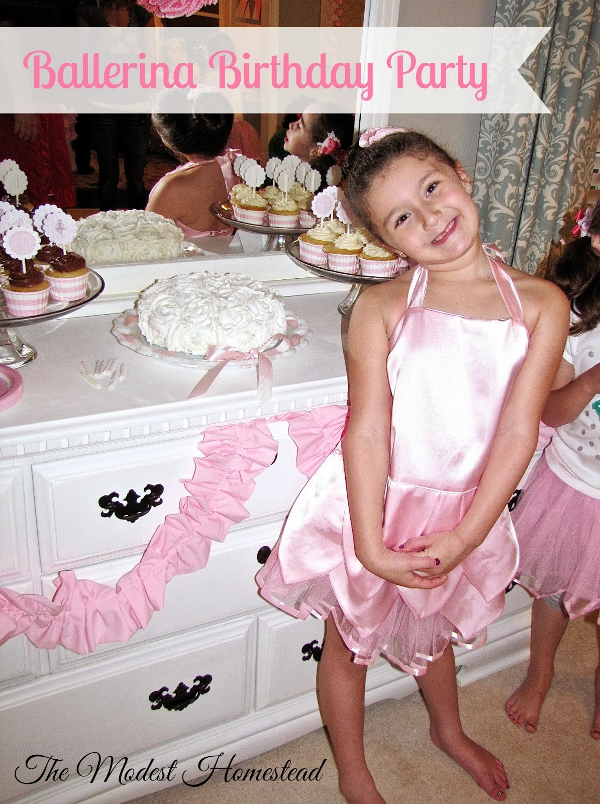 girls ballerina birthday party